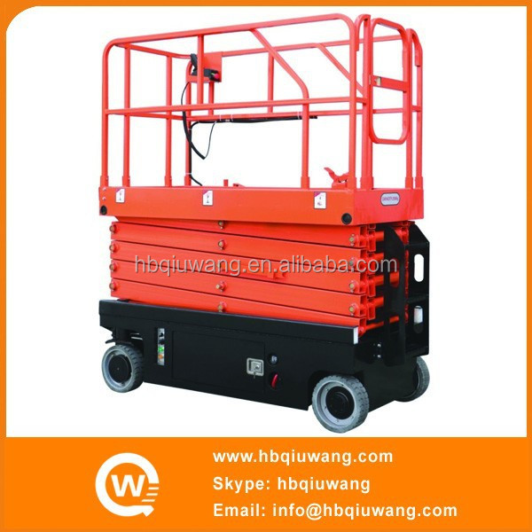 CE certified cheap hydraulic mini mobile scissor car lifter for auto repair
