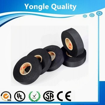 0.18mm 105c Yongle Automotive Tape Polyester Fabric Cloth Tape /0.18mm on