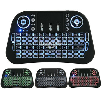 Rii Mini I8 Pro Universal Remote Control With Air Mouse And Mini Wireless  Keyboard For Sharp Smart Tv - Buy Mini Wireless Keyboard For Sharp Smart