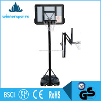 Steel Protable Adjustable Outdoor Indoor Basketball Hoop Set