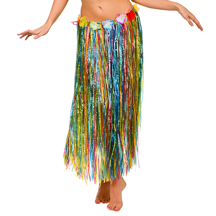 Adult hula skirt — 8