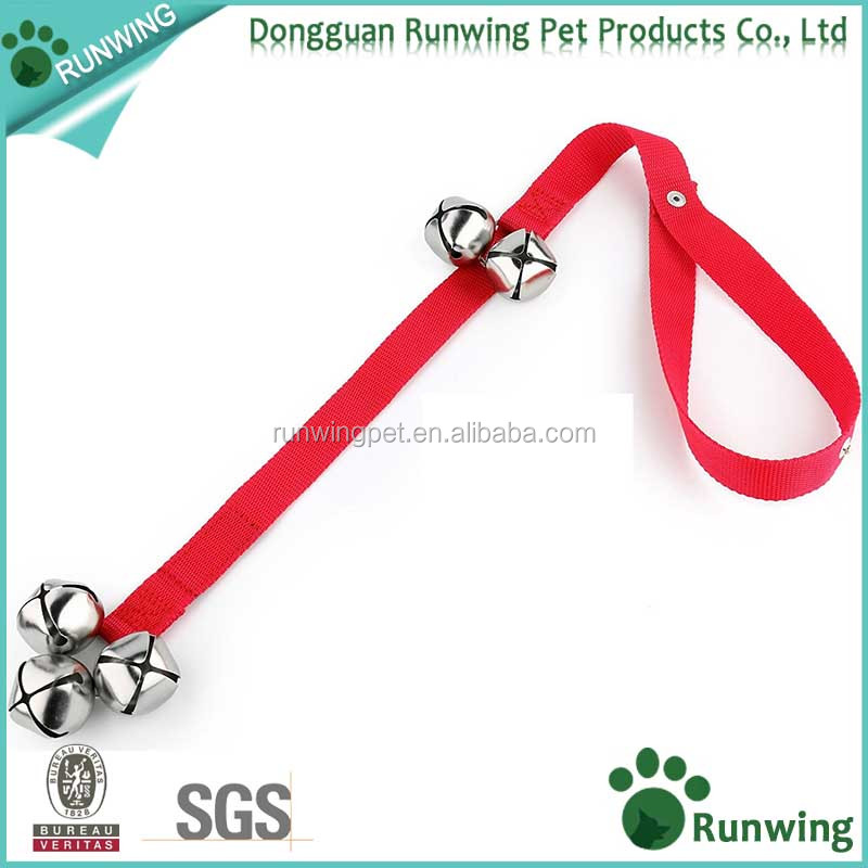Dog Bells for Potty Training Your Puppy the Easy Way, Adjustable DoorBells Length for Small, Medium and Large Dogs