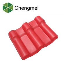 duarable colorful artificial asa synthetic resin roof tiles