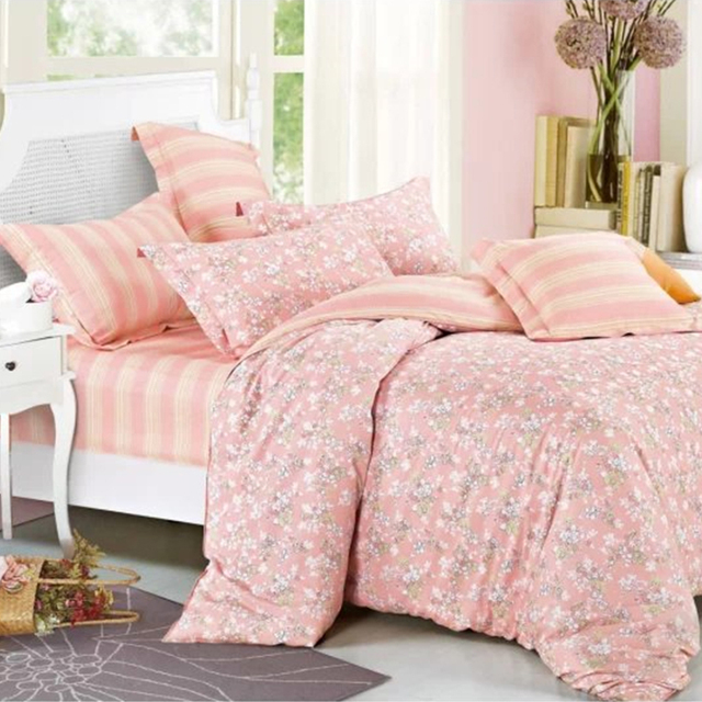 Textiles Bedsheets 100% Polyester / Cotton Microfiber Fabric Bed Sheet