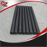 Low sulfur and low specific resistance carbon graphite rod used in steel industry