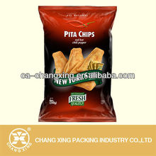 Resealed plastic heat patato chips food grade sealing bag