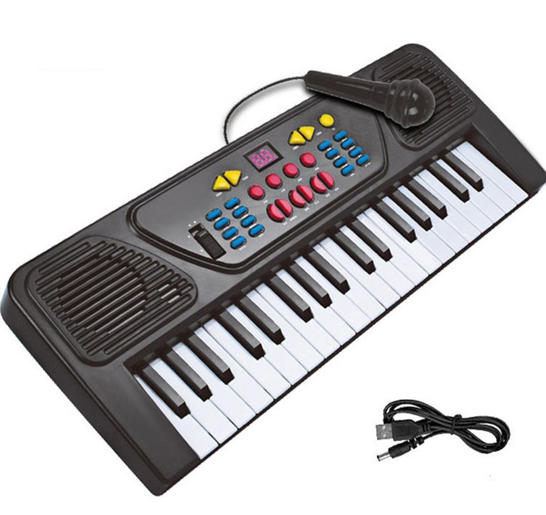 3003743fb Get Quotations · AxiEr Electric Piano 37-key Keyboard Digital Piano Mini Keyboard  Electronic Piano Portable Keyboard Kids