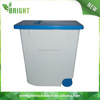 H508 Pure PP material airtight plastic 20l 8kg pet food container