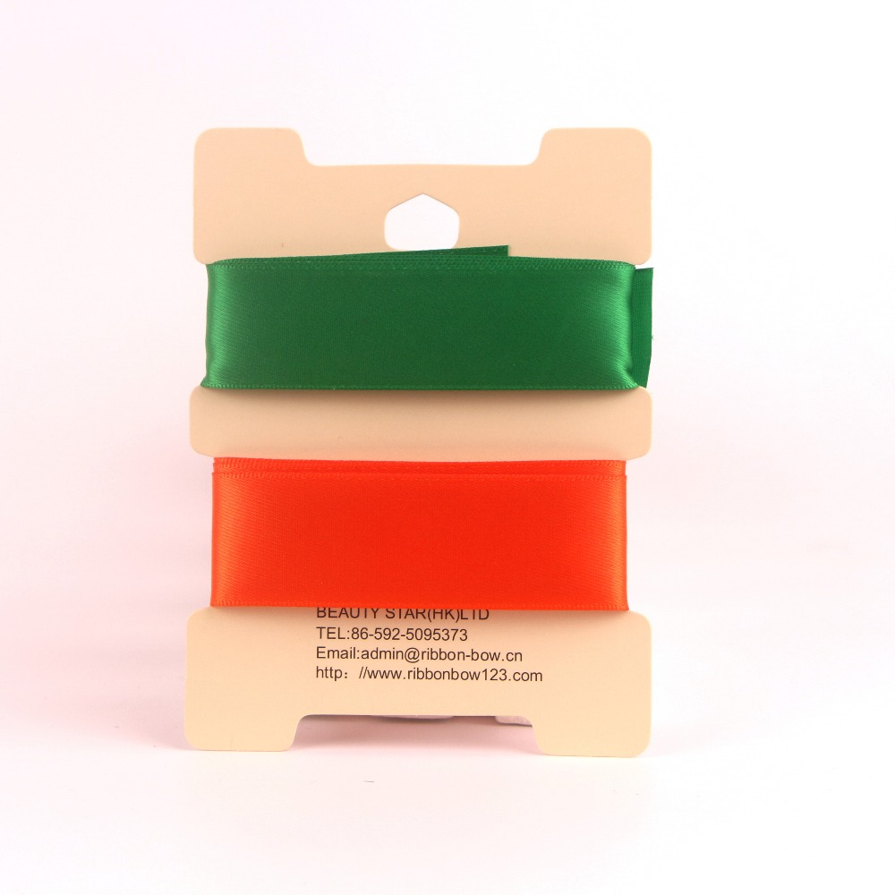satin ribbon personalized christmas gift ribbon for packaging