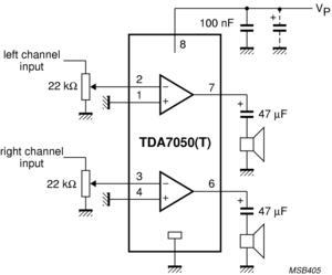 Tda7050t - Low Voltage Audio Amplifier Ic - Buy Audio Ic Product on  Alibaba com