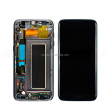 Replacement Original Mobile Phone Parts Full LCD Complete LCD Touch Screen Digitizer Assembly For Samsung Galaxy S7 Edge