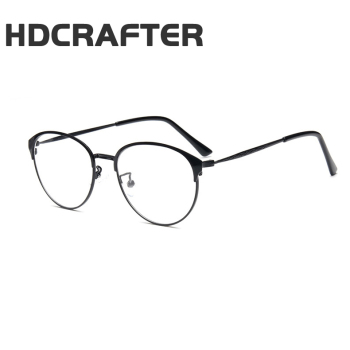 e2ab5707ec HDCRAFTER Retro glasses Korea Design eyeglasses men Prescription womens eyewear  frames 2017 men optical glasses clear