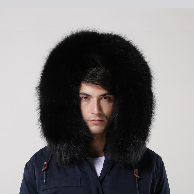 1899f8cae Long Length Mens Fashion Navy Parka Shell Black Fake Fur Lined Mens Long  Navy Parka - Buy Navy Mens Long Parka,Factory Selling Mens Wram ...