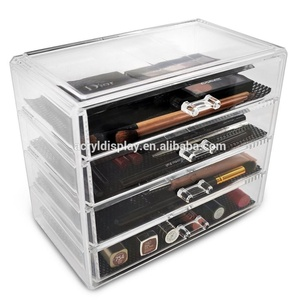 cosmetics display case/makeup organizer/display stand acrylic