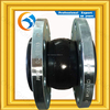 Carbon steel flanged Reinforced Single Ball Rubber Joint