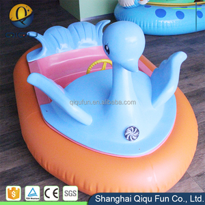 New arrival hot water park amusement music water equipment toy water motor inflatable motorized bumper boat with electric motor