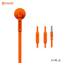 YISON Good Quality Wired Single Earphone Mono Headset Sell Directly From Ear phone Factory