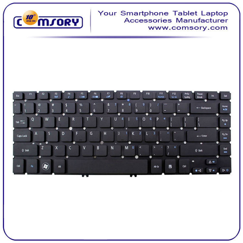 Laptop Replacement Keyboard Without Frame For Acer Aspire V5-471 ...