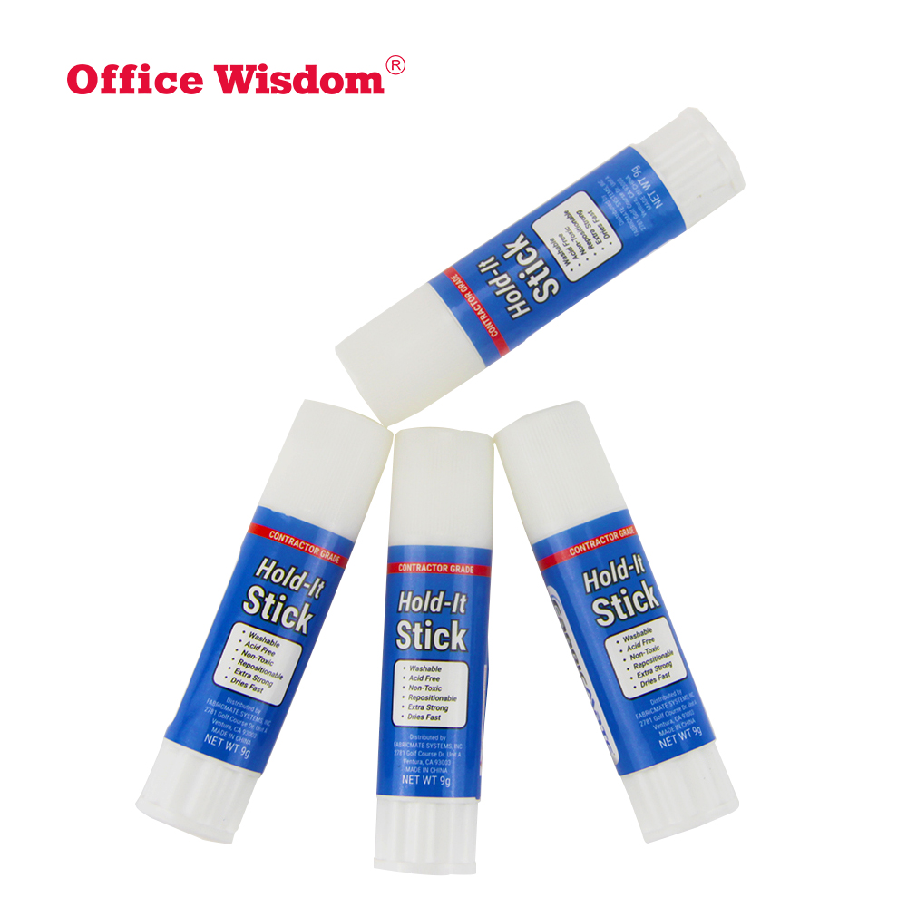All Purpose white Extra Strength Office 9g non-toxic glue stick High quality and low price white glue stick