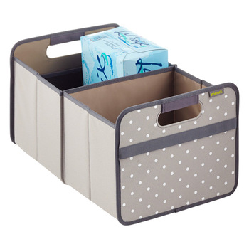 Meori Grey Dots Foldable Box