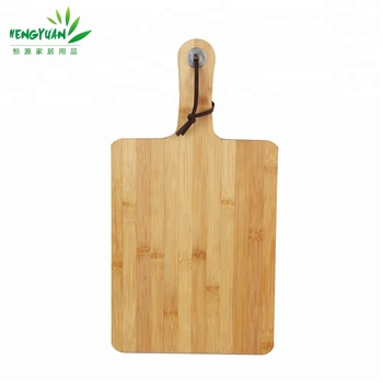 Hot china products bamboo wood pizza cutting board
