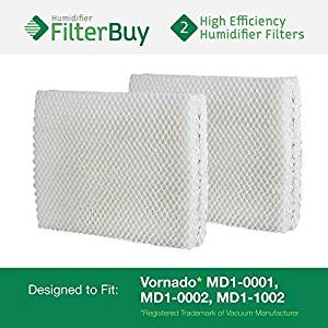 Vornado MD1-0001, MD1-0002, MD1-1002 Humidifier Wick Filter. Designed by FilterBuy to fit all Vornado Evaporative Humidifiers. Pack of 2 Filters., Model: HF-VMD1pk2, Tools & Hardware store