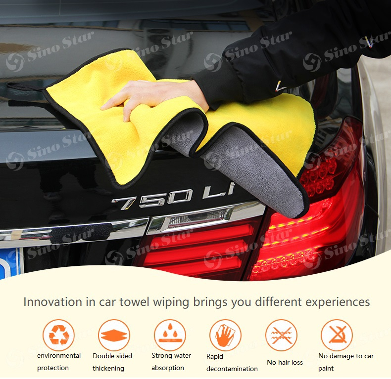 New design Multi-Function Microfiber Towel Car Detailing car washing towel /car cleaning