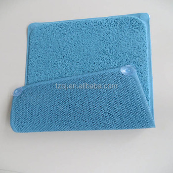 Exceptionnel PVC Loofah Shower Mat Non Slip Bath Mat