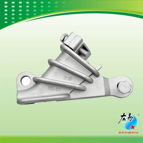 Bolted type aluminum clad steel strain clamp