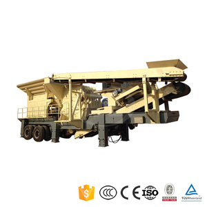 Competitive Price Concrete Recycling Complete Plant Diesel Construction Mobile Crusher