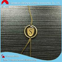 Quality String Seal Tag/Hang Tag String/Garment Plastic Seal Tag