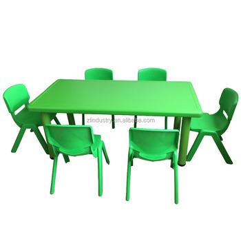 Kleine Größe Kinder Kunststoff Kindergarten Möbel Esstisch Set ...