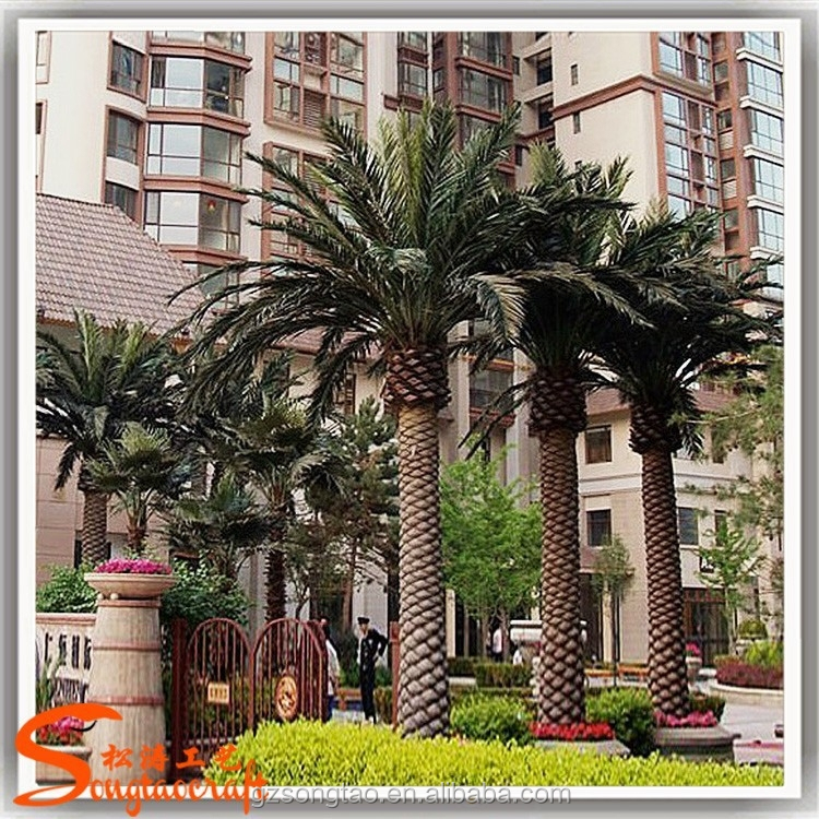 Wholesale Large Outdoor Artificial Decorative Date Palm Trees Palm Tree Leaves of Names In India