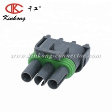 3 pole female cable wire connector
