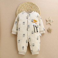 2018 new infant jumpsuit crawl china wholesale girl romper warm winter clothes organic cotton baby clothing
