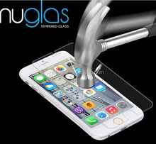 Nuglas 9H tempered glass screen protector for iphone 6 ,screen cleaner for iphone 6 plus,fast delivery