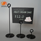 Double Wire Spiral Sign Holder Clip for Supermarket Sign Display Metal POP Label Holders