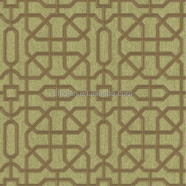 Plastic temple wallpaper arabic design for home