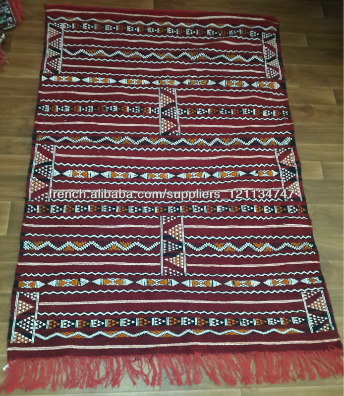 grossiste tapis marocain tapis kilim berber marocain 186cmx126cm tapis id de produit. Black Bedroom Furniture Sets. Home Design Ideas