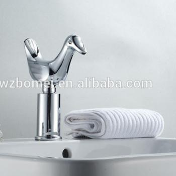 Single Cold Bird/Duck Shape Automatic Sensor Faucet Without Hand Wash Basin  Sensor Tap Sink