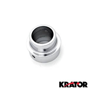 Krator Dirt Bike Exhaust Tip Muffler Power Outlet Chrome For 2006 Yamaha TT-R90 / TT-R90E