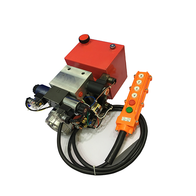 hydraulic pump and electric motor