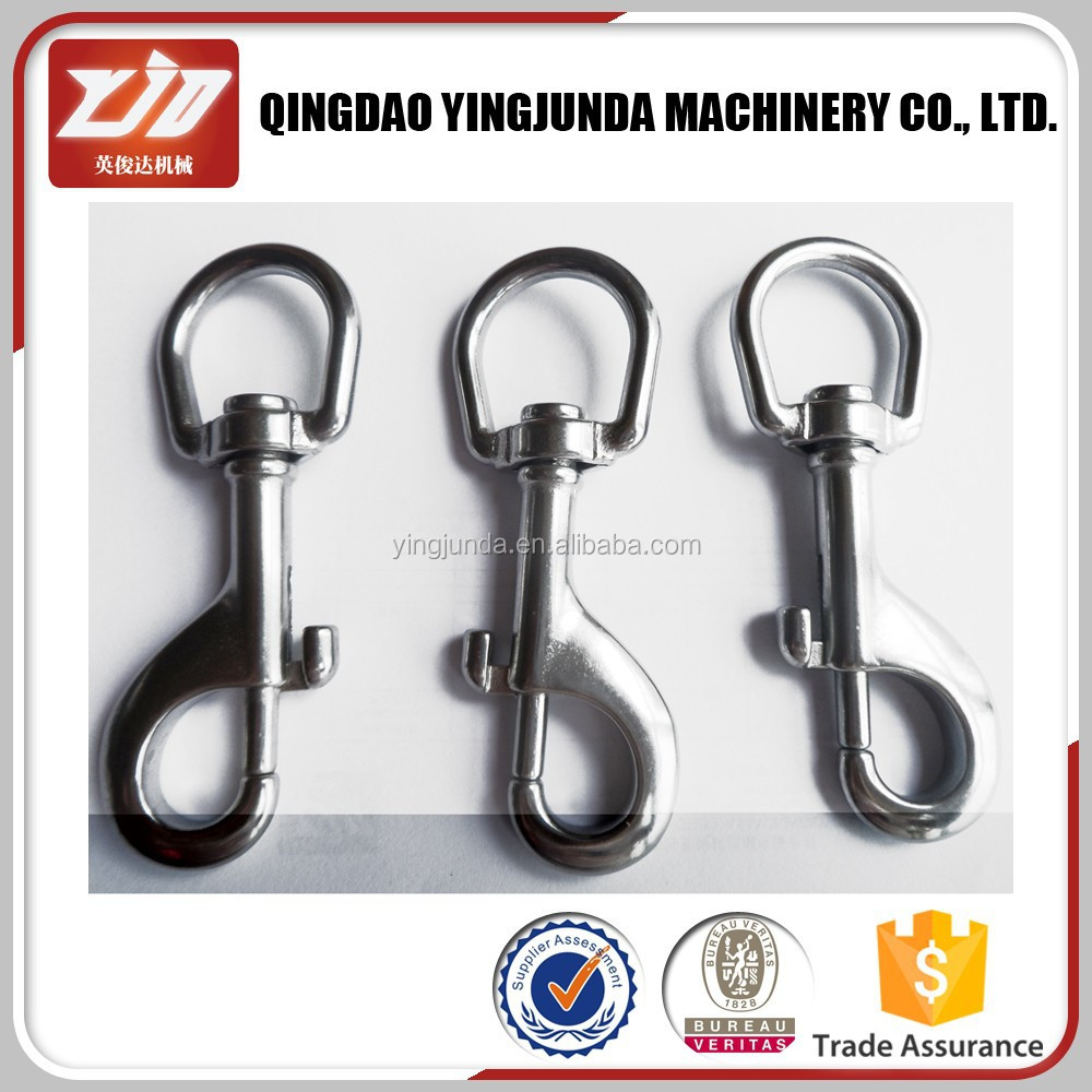 stainless steel round swivel eye bolt snap stainless steel snap hook supplier