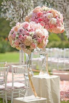 clear reversible trumpet glass vase flower vase wedding centerpiece rh alibaba com  flower vase wedding centerpieces