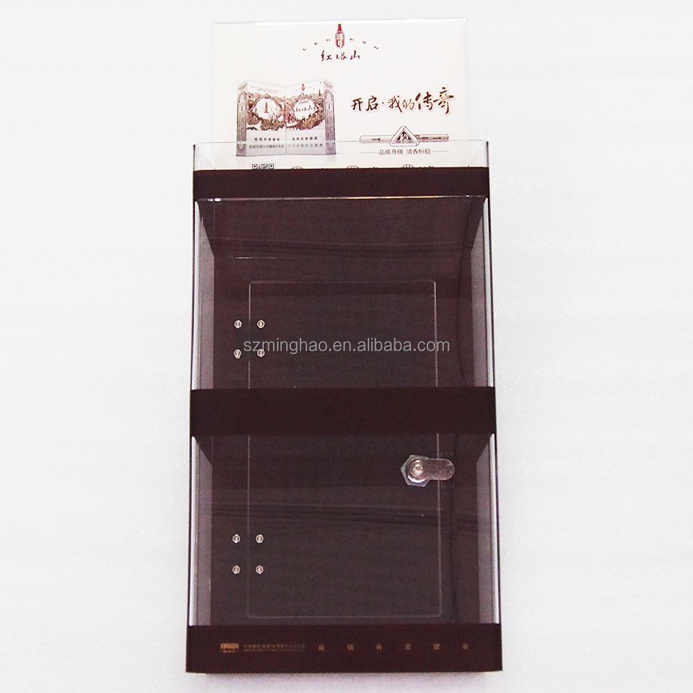 Wholesale Acrylic Cigarette Display Stand With Lock View