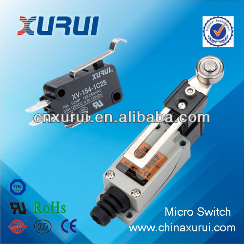 Factory supply UL&RoHS micro limit switch epcos capacitor