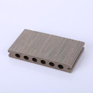 Water- Proof Wood Plastic Composite Marina Dock Decking/WPC Co-Extrusion composite decking