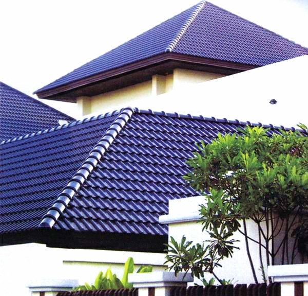 European Style Blue Clay Roof Tile Buy Blue Clay Roof