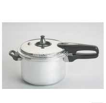 3L Aluminium Polished visual rice Pressure Cooker With inner lid