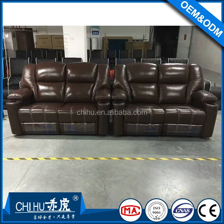 Real Leather Electric Recliner Home